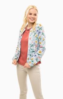 Легкая куртка с цветочным принтом S.Oliver