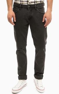 Серые джинсы с потертостями Tom Tailor Denim