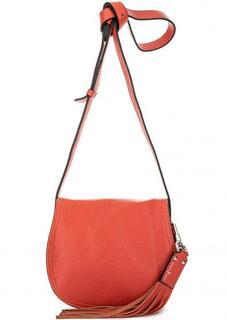Маленькая сумка кораллового цвета Gianni Conti