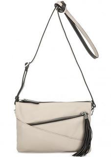 Маленькая сумка с двумя отделами на молнии Gianni Conti