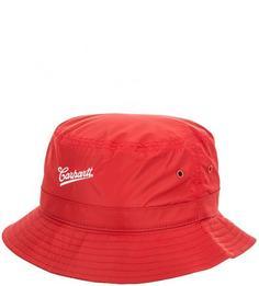 Красная шляпа-панама с вышивкой Carhartt WIP