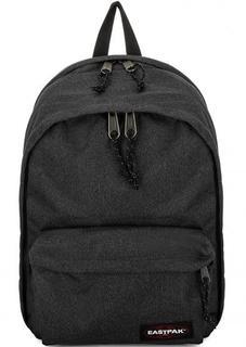 Черный рюкзак с двумя отделами Eastpak