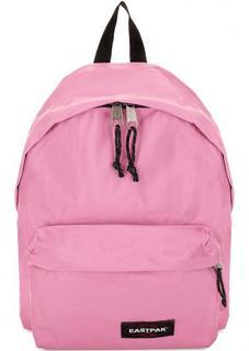 Розовый текстильный рюкзак Eastpak