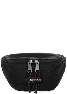 Черная сумка на молнии с одним отделом Eastpak
