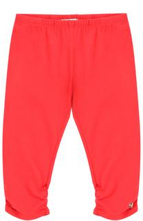 Однотонные брюки из эластичного хлопка Giorgio Armani