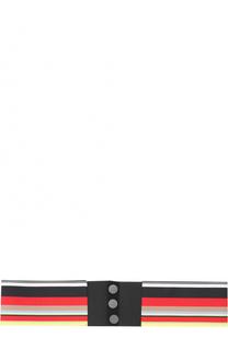 Эластичный пояс в полоску Diane Von Furstenberg