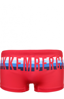 Плавки с логотипом бренда Dirk Bikkembergs
