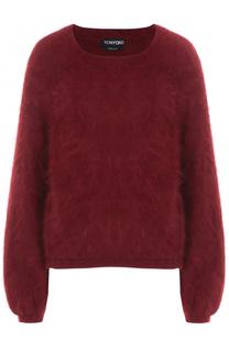 Пуловер из ангоры свободного кроя Tom Ford