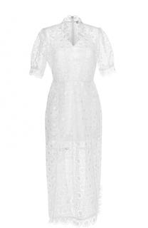 Кружевное платье-миди с V-образным вырезом Alice McCall