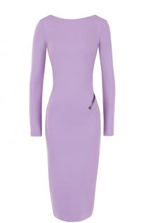 Платье-футляр с открытой спиной Tom Ford