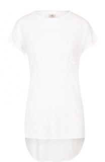 Спортивная футболка с удлиненной спинкой Varley
