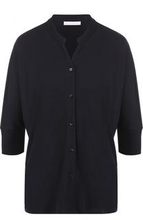 Блуза свободного кроя с укороченным рукавом HUGO