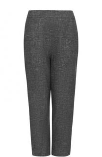 Укороченные льняные брюки прямого кроя Isa Arfen