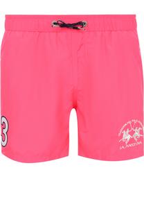 Плавки-шорты с карманами La Martina