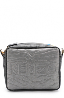Сумка Kombo с перфорацией и текстильной отделкой Kenzo