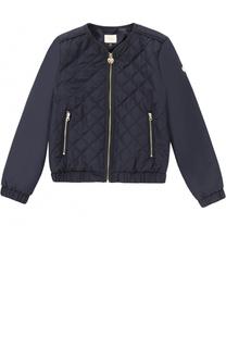 Стеганая куртка с эластичными вставками Giorgio Armani