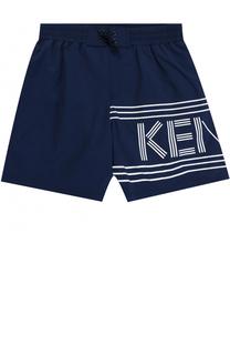 Шорты с логотипом бренда Kenzo