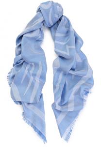 Хлопковый шарф с принтом Kenzo