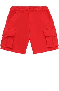 Шорты из хлопка с накладными карманами Marc Jacobs