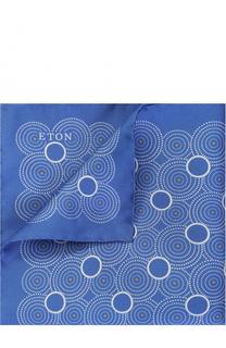 Шелковый платок с принтом Eton