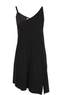 Мини-платье асимметричного кроя Isabel Benenato