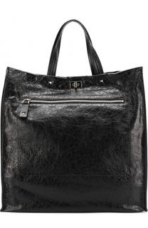 Кожаная сумка-тоут Rockstud Valentino