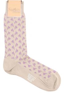 Хлопковые носки с принтом Sorley Socks