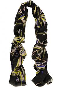 Шелковый шарф с принтом Emilio Pucci