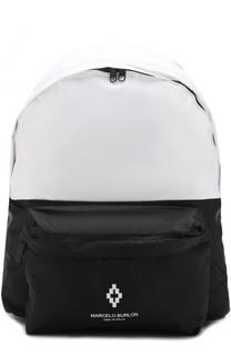 Рюкзак с логотипом бренда Marcelo Burlon Kids of Milan