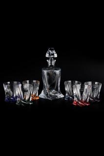 Набор для виски 7 пр. Crystalite Bohemia