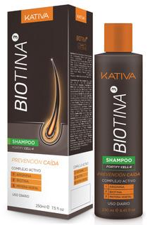 Шампунь с биотином Kativa