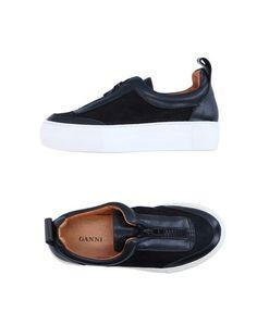 Низкие кеды и кроссовки Ganni