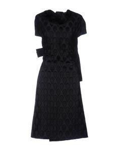 Платье до колена Saint Laurent