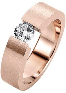Кольцо Давина (розово-золотистый) Bonprix