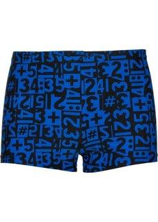 Мужские купальные плавки (синий/черный) Bonprix