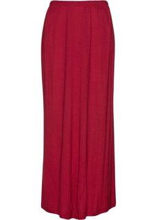 Трикотажная юбка (темно-красный) Bonprix