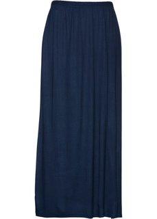 Трикотажная юбка (темно-синий) Bonprix