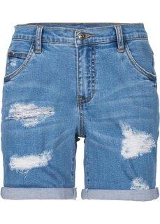 Джинсовые шорты (нежно-голубой) Bonprix