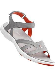 Спортивные сандалии (светло-серый/оранжевый) Bonprix