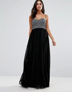 Платье макси бандо Forever Unique Roisin - Черный