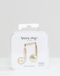 Наушники цвета шампанского Happy Plugs - Мульти