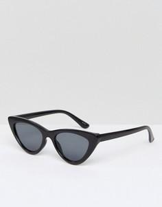 Солнцезащитные очки кошачий глаз ALDO Serasio - Черный