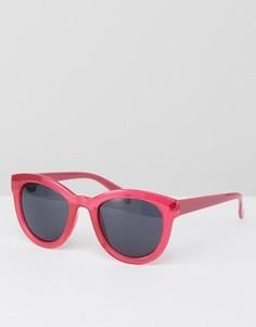 Солнцезащитные оversize-очки AJ Morgan - Розовый