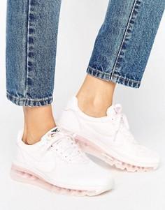 Жемчужно-розовые кроссовки с металлической отделкой Nike Premium Ld Zero - Розовый