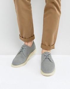 Замшевые туфли Dr Martens Torriano - Серый