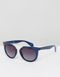 Солнцезащитные очки с отделкой на переносице Jeepers Peepers - Синий