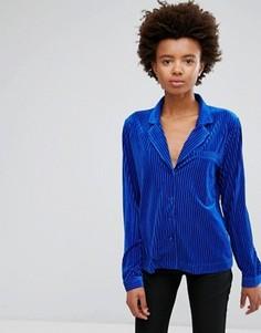 Свободная рубашка Minimum - Синий