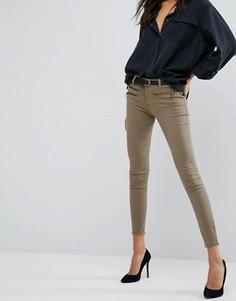Облегающие джинсы DL1961 Jessica Alba X DL No.3 Instasculpt - Зеленый