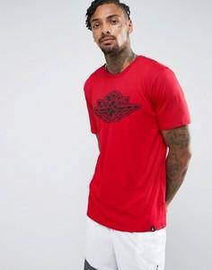 Красная футболка с логотипом Nike 834476-687 - Красный Jordan