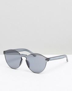 Круглые солнцезащитные очки с плоскими стеклами ALDO - Черный